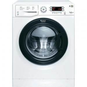 Masina de spalat rufe SLIM Hotpoint-Ariston WMSD723B, 1200 RPM, 7 kg, Clasa A+++, Display LED, Al