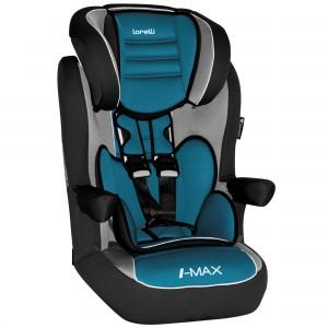 Scaun auto Lorelli Premium I-Max, Isofix, 9-36 Kg, Agora Petrole