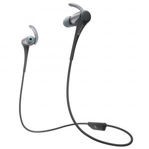 Casti audio In-ear Sony, Sport, MDRAS800BTB, Bluetooth, Negru