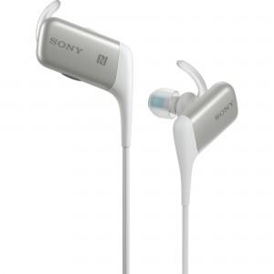 Casti audio in-ear Sony MDRAS600, Wireless, Alb