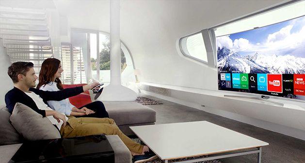 TV SUHD Curbat Smart 3D Samsung 8