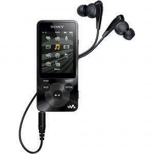 Mp4 Player Sony NWZ-E585, 16GB, Negr