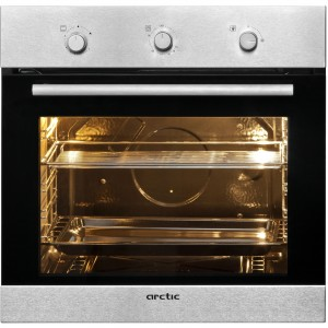 Cuptor incorporabil Arctic AROIG21101, Gaz, 60 l, Grill, Inox