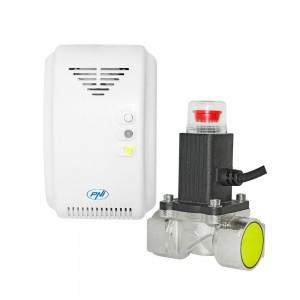 Kit PNI Safe House 200 Senzor gaz si electrovalva 3-4 Inch