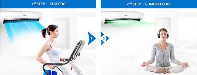 Aparat de aer conditionat Samsung AR12KSWSBWKNZE abcTop3