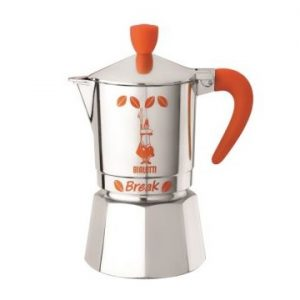 Espressor moka Break R M P Bialetti Orange 3 cesti