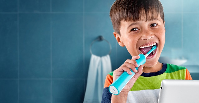 Sonicare For Kids - Cea mai buna periuta de dinti electrica pentru copii - abcTop.ro