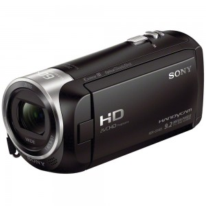 Camera video Sony HDRCX405B, Full HD, Negru 3