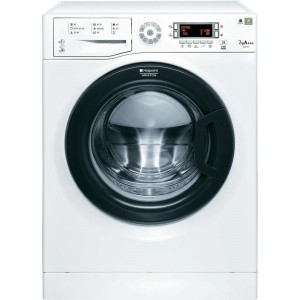 Masina de spalat rufe SLIM Hotpoint-Ariston WMSD723B, 1200 RPM, 7 kg, Clasa A+++, Display LED, Al