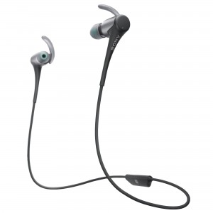 Casti audio In-ear Sony, Sport, MDRAS800BTB, Bluetooth, Negru