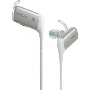 Casti audio in-ear Sony MDRAS600, Wireless, Alb