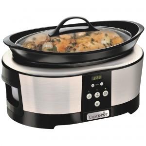 Slow cooker Crock-Pot SCCPBPP605-050, 5.7 l, 2 Setari gatit - cea mai buna oala electrica de tipul slow cooker