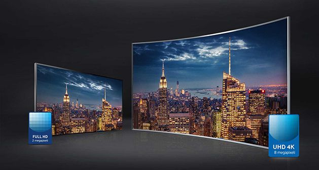 Televizor SUHD Curbat Smart 3D Samsung 2