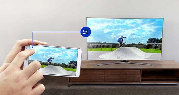 Televizor SUHD Curbat Smart 3D Samsung 6