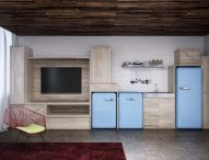 Cel mai bun frigider retro colorat
