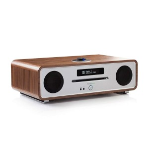 Sistem audio Ruark R4 MK3 Walnut, Bluetooth, CD, USB, FM