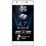 Telefon mobil Allview V2 Viper, Dual SIM, 16GB, 4G, White