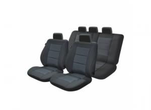 Set huse scaun Premium Lux negru M03