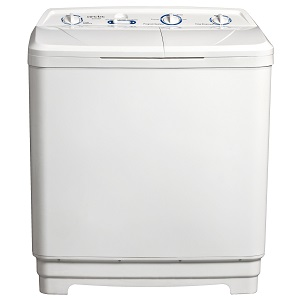 Masina de spalat rufe semiautomata Arctic WTT100, Capacitate incarcare 7.5 kg, Capacitate stoarcere 4.5 kg, Alb
