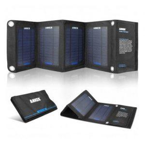 Incarcator solar pliabil Anker 14W PowerIQ - 2 ani garantie