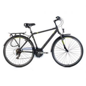 Bicicleta de Oras Leader Fox Ferrara Gent, gri, suspensie, 21 viteze,