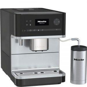 Espressor MIELE CM 6310, de sine statator, pe baza de cafea boabe, Negru