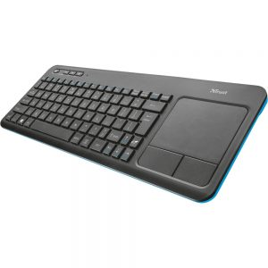 Tastatura Trust VEZA 20960, Wireless, Touchpad