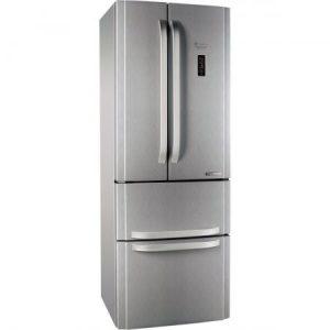 Combina frigorifica Hotpoint E4DYAAXC, 470 l, Clasa A+, No Frost