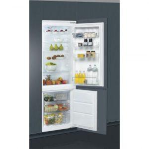 Combina frigorifica incorporabila Whirlpool 6th Sense, ART 872, 264 l