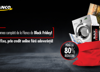 Top electronice reduse de Black Friday la Flanco